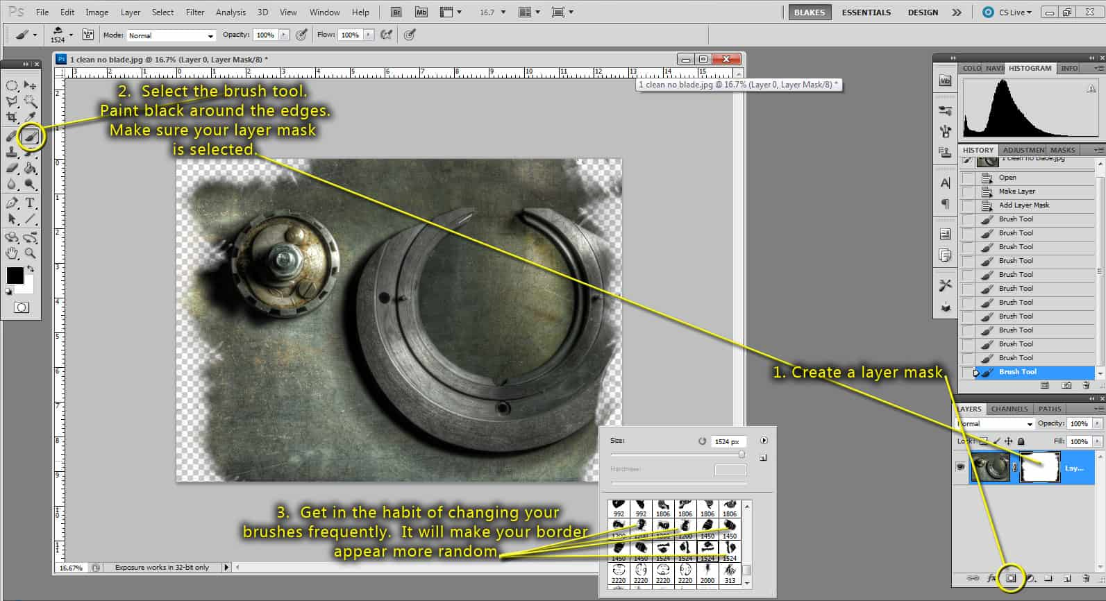 how to make a layer black in photoshop