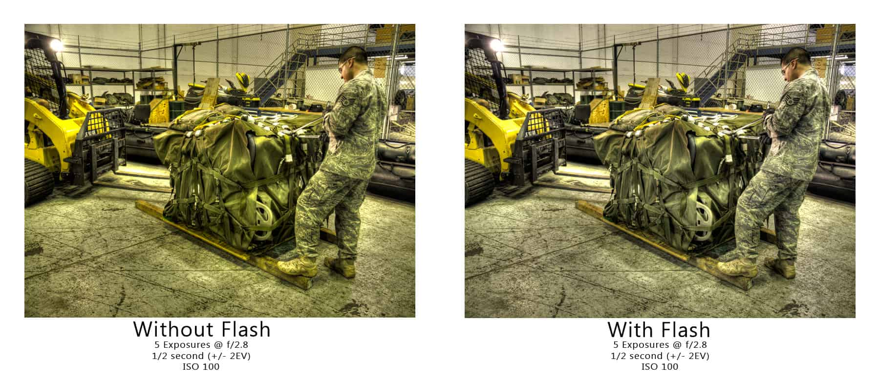 Quick Tip: Flash With HDR