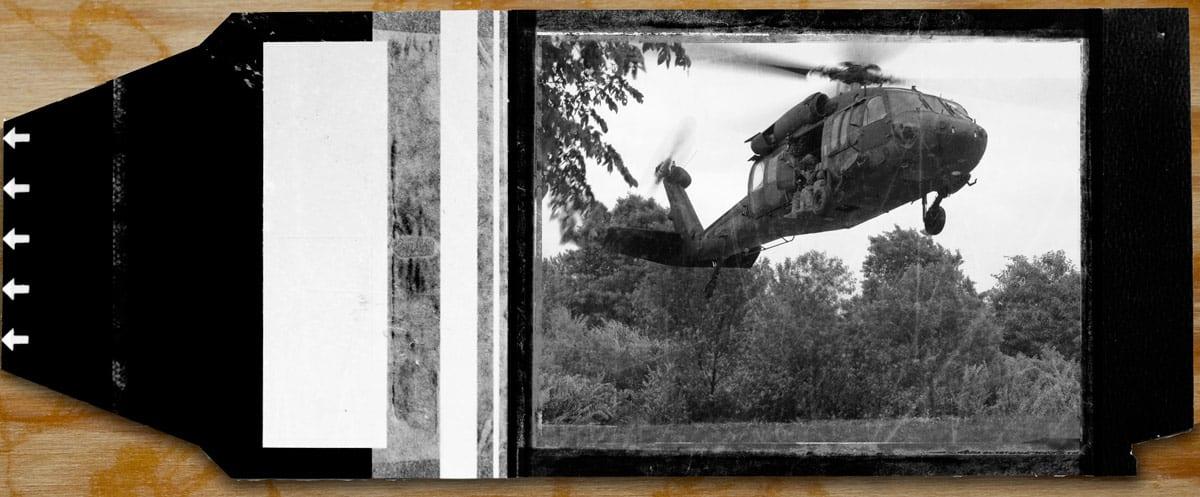 Polaroid Camera Negative