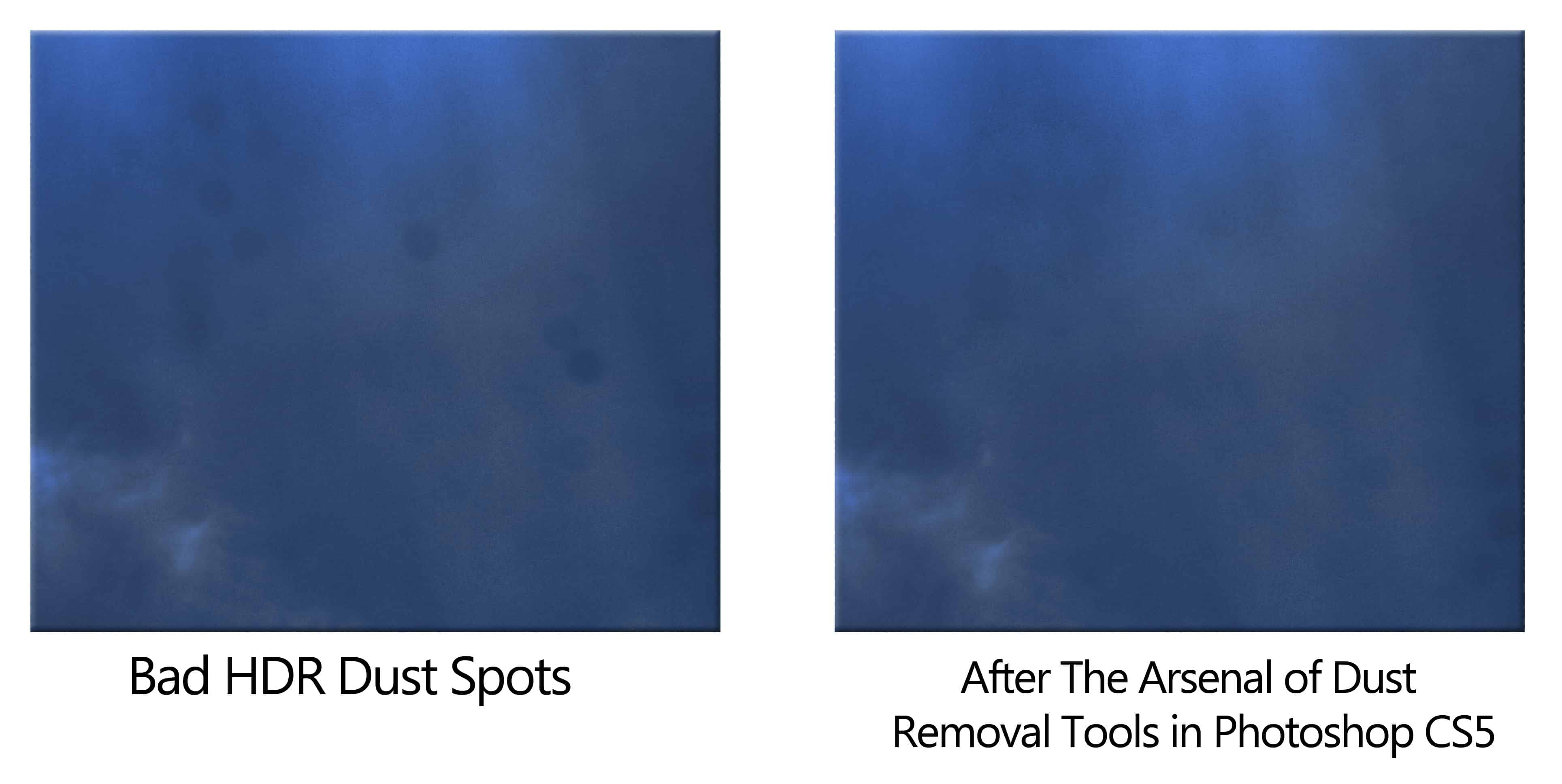 Fixing Dust Blemishes With Photoshop CS 5