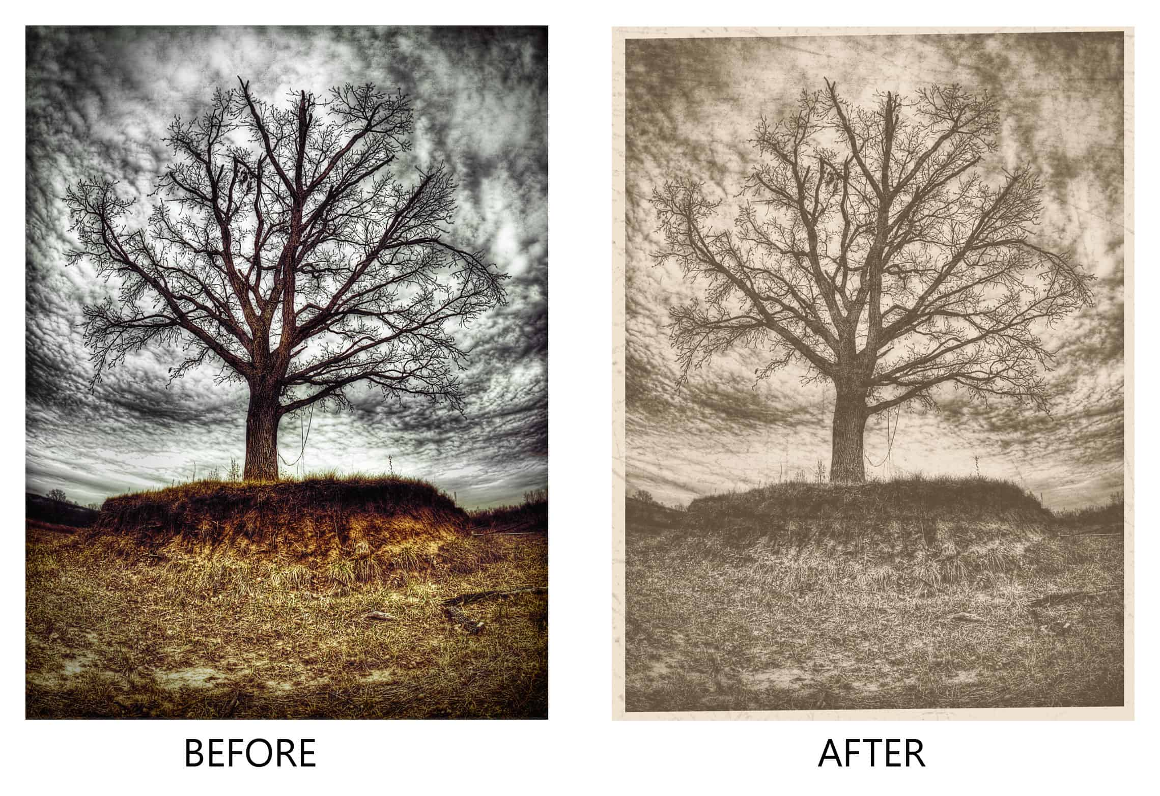Old Photograph Effect