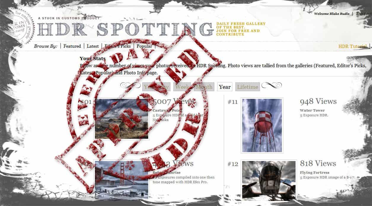 HDR Spotting