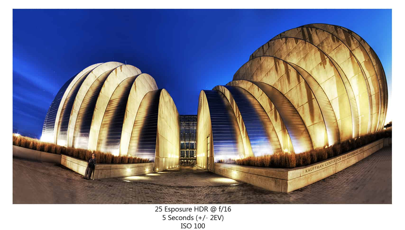 Kauffman Center… Gold to Blue?