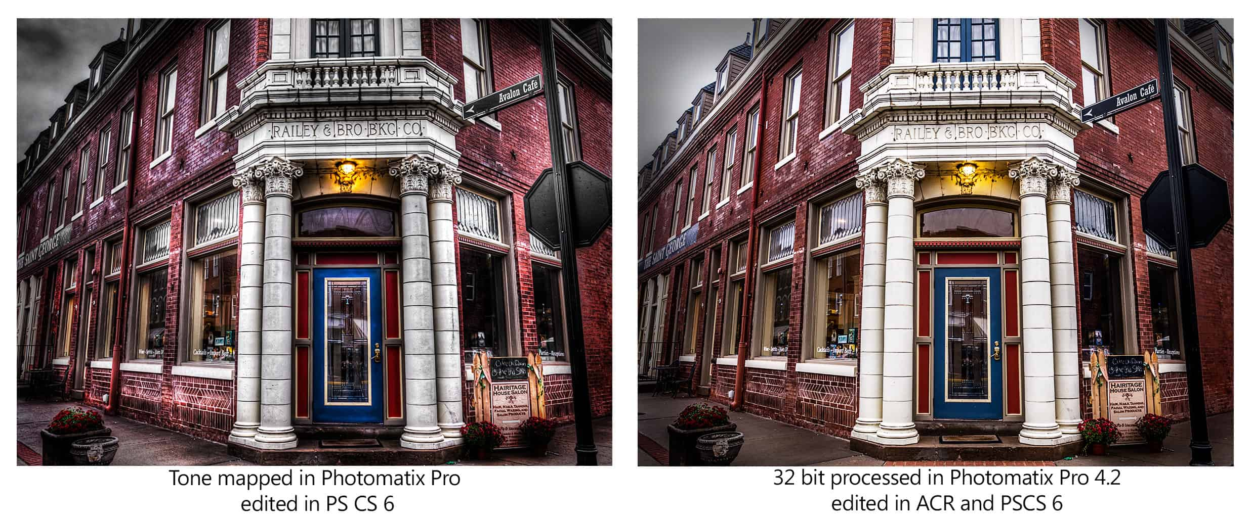 32 Bit HDR Processing Workflow with Photomatix Pro