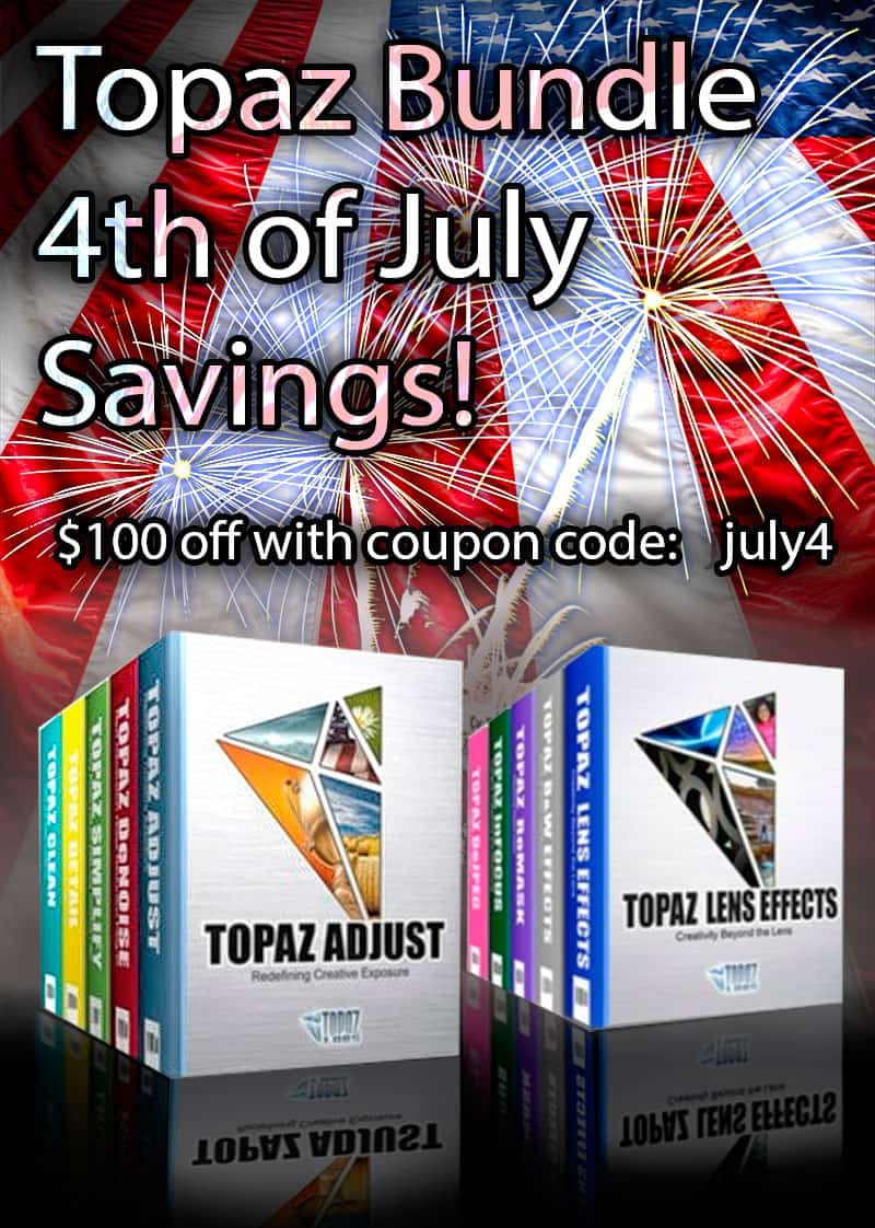 Topaz Labs 4th of July Sale!