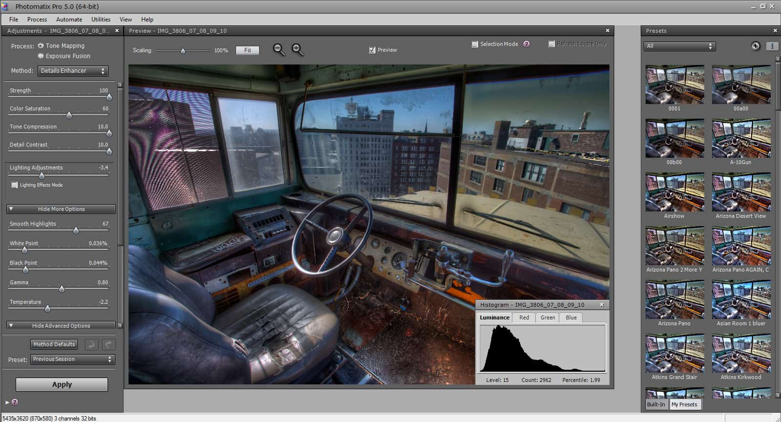 What's New In Photomatix Pro 5.0