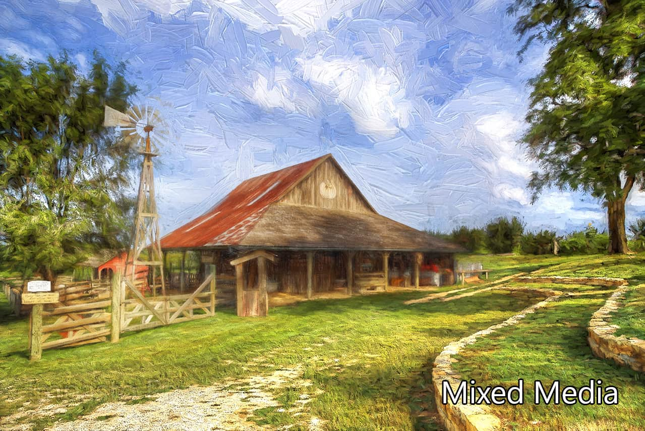 Topaz Impression – Mixed Media Images