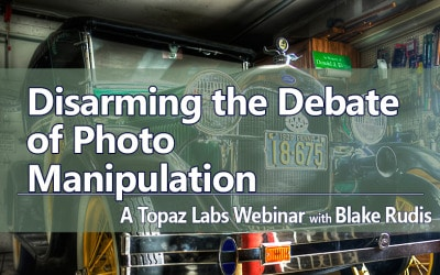Disarming the Debate of Photo Manipulation