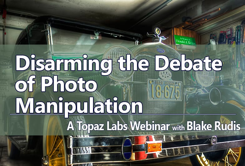 Disarming the Debate of Photo Manipulation