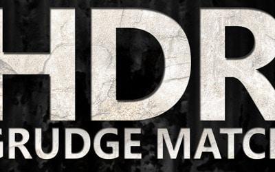 An HDR Grunge Match!