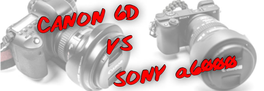 The Canon 6D vs Sony a6000