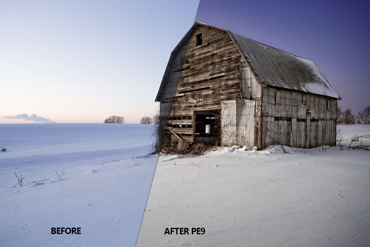 Before & After PE9