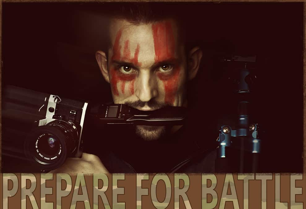How to Prepare For Battle With a Photograph!