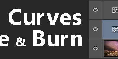 Curves Adjustment Dodging and Burning