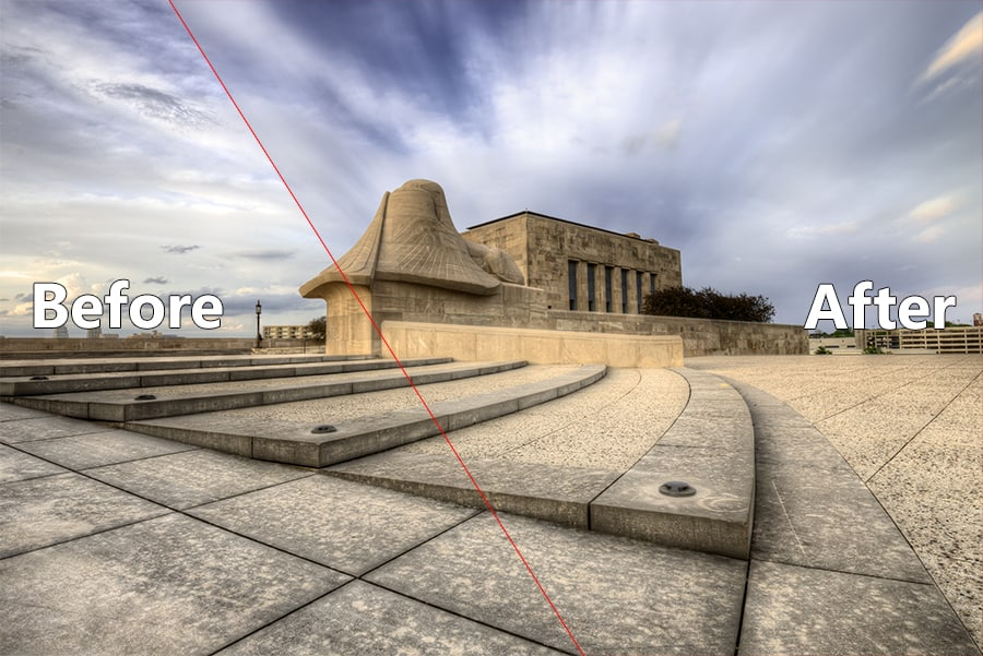 Fake Neutral Density in Photoshop Example