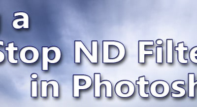 How to Fake Neutral Density in Photoshop!