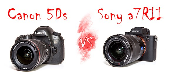 The Canon 5Ds vs Sony A7RII
