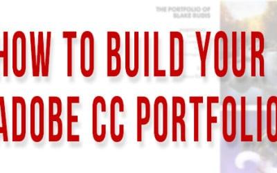 How to Make Your Adobe Portfolio