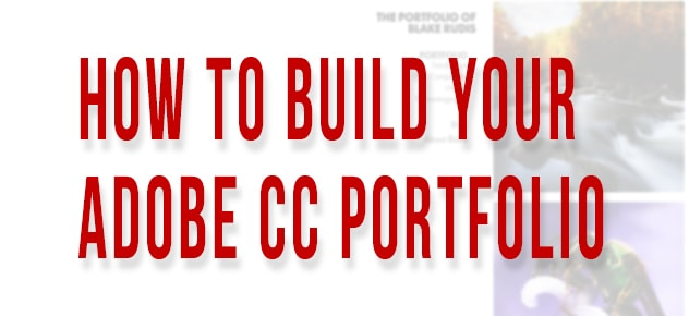 How to Make Your Adobe Portfolio