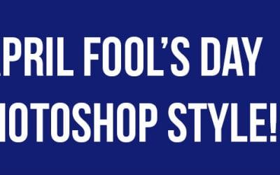 April Fool's Day Photoshop Prank