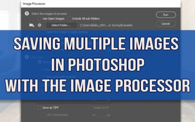 Saving Multiple Images Automatically in Photoshop