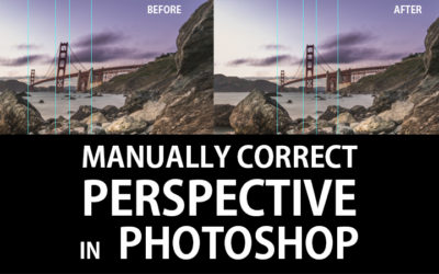 Manual Perspective Correction in Photoshop