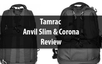 Tamrac Anvil Slim 15 and Corona 20