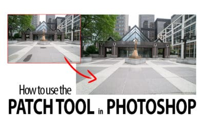 How to use the Patch Tool in Photoshop
