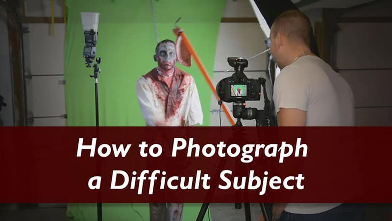Photographing and Editing a Difficult Subject