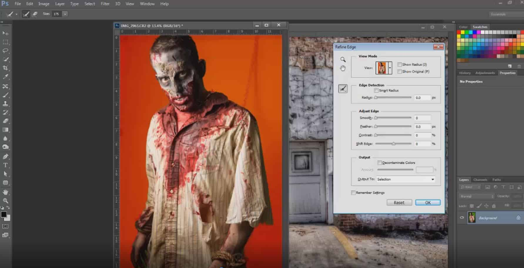 zombie-post-processing