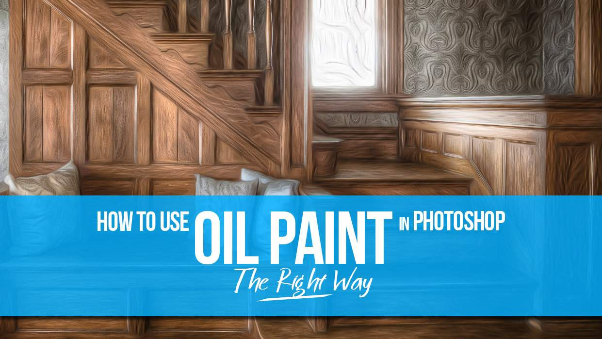 In Photoshop CS6 further How To Use The Oil Paint Filter In Photoshop ...
