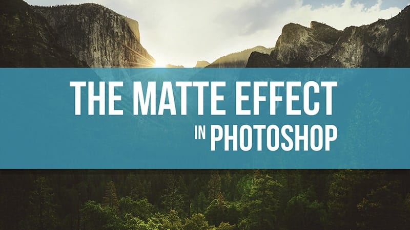 Matte Effect in Photoshop