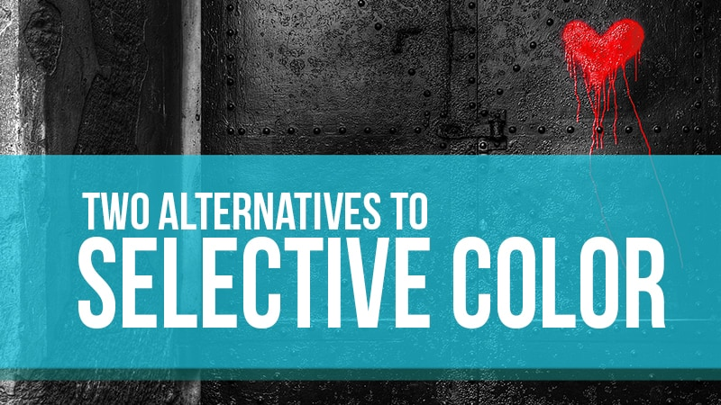 Selective Color in Photoshop