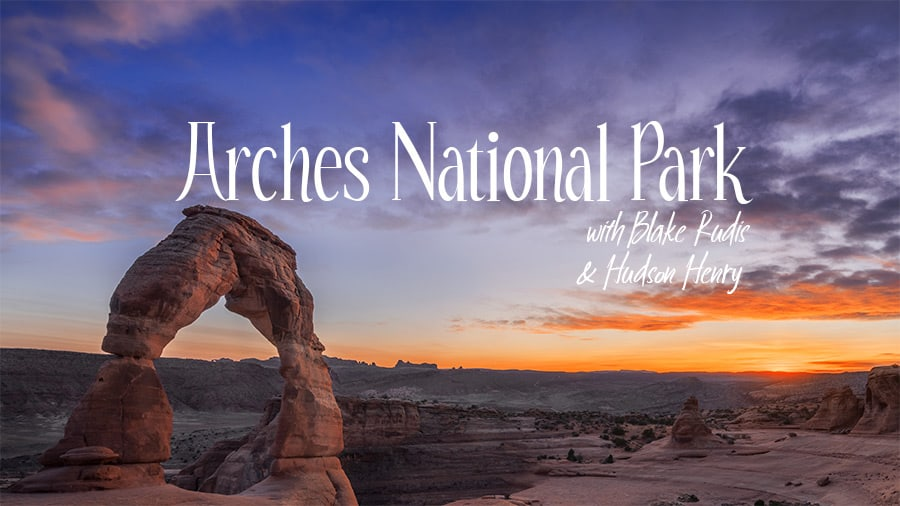 Photographing Arches National Park