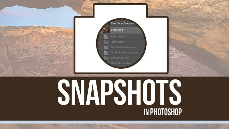 How to Use Snapshots in Photoshop CC