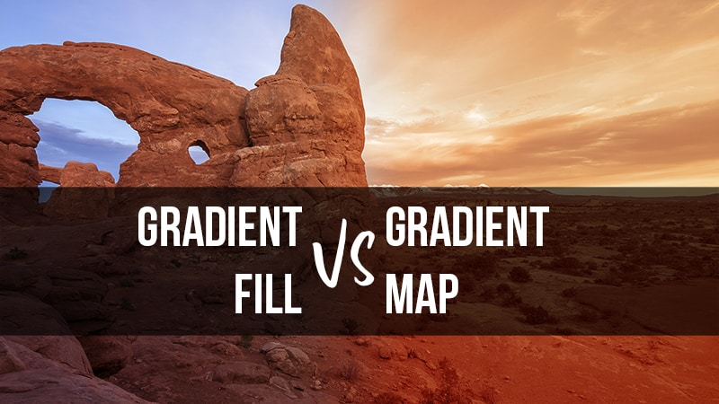 Gradients in Photoshop Explained!
