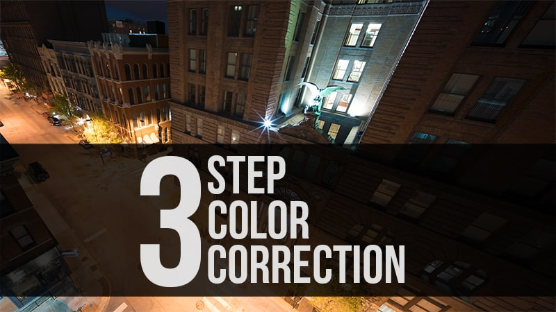 3 Step Color Correction in ACR