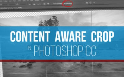 Content-Aware Crop in Photoshop CC