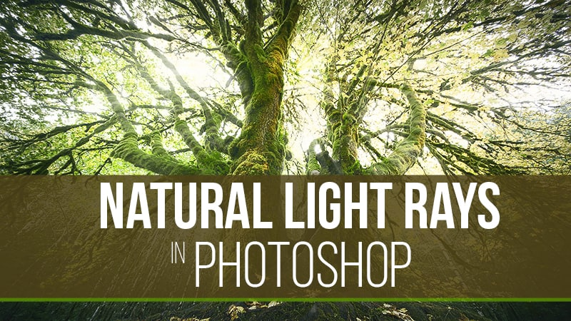 How To Make Natural Light Rays in Photoshop