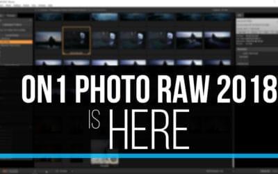ON1 Photo RAW 2018!