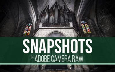 Snapshots in Adobe Camera Raw