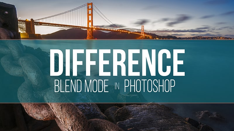 The Difference Blend Mode in Photoshop