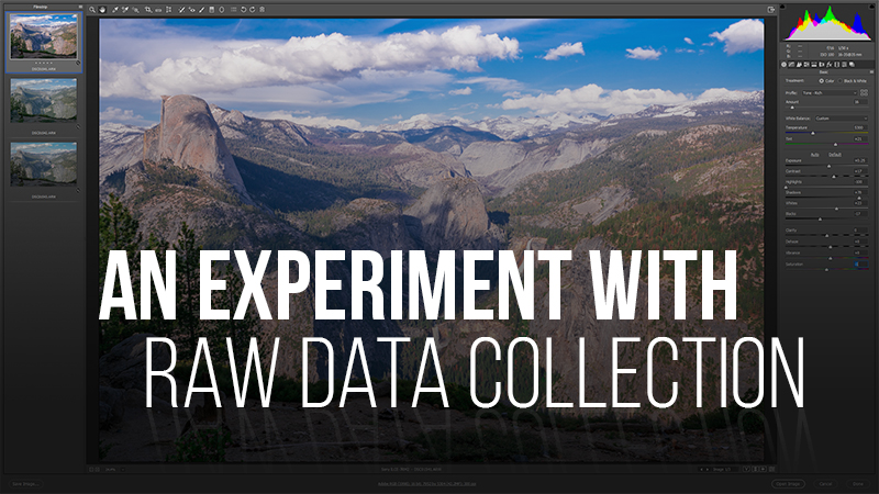 Raw File and Data Collection – Video Tutorial