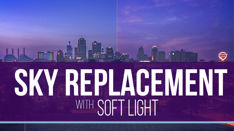 Replacing a Sky With the Soft Light Blend Mode – Video