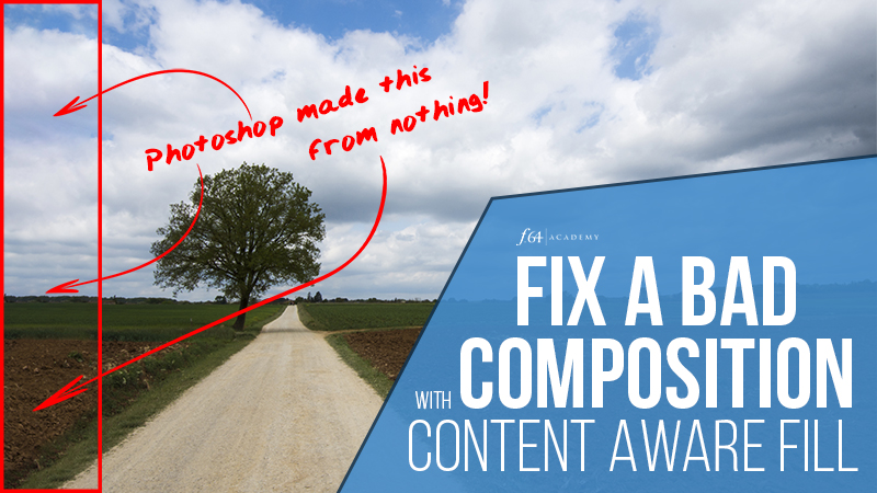 Fix a Bad Composition with Content Aware Fill