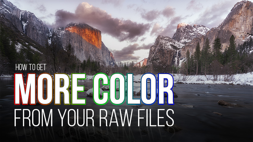 Get More Color Out of Your RAW Files (Video)