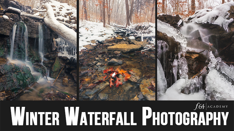Winter Waterfall Photography (Video)