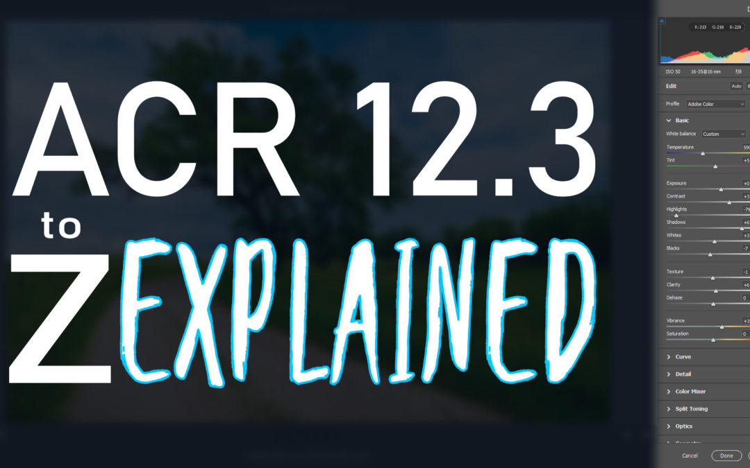 Everything you need to know about ACR 12.3 (4 Part Series)