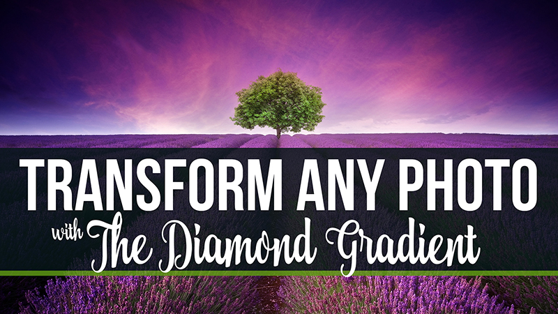 The AMAZING Diamond Gradient in Photoshop