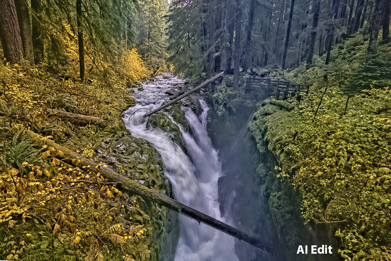 AI photo processing - AI edit